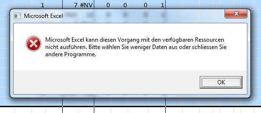 Screenshot Excel 2